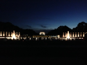 Last night in DC