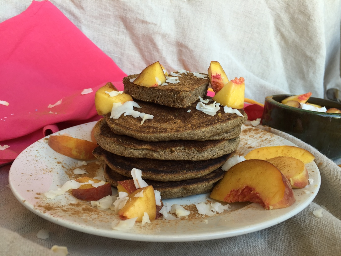 Perfectly Fluffy Grain Free Pancakes