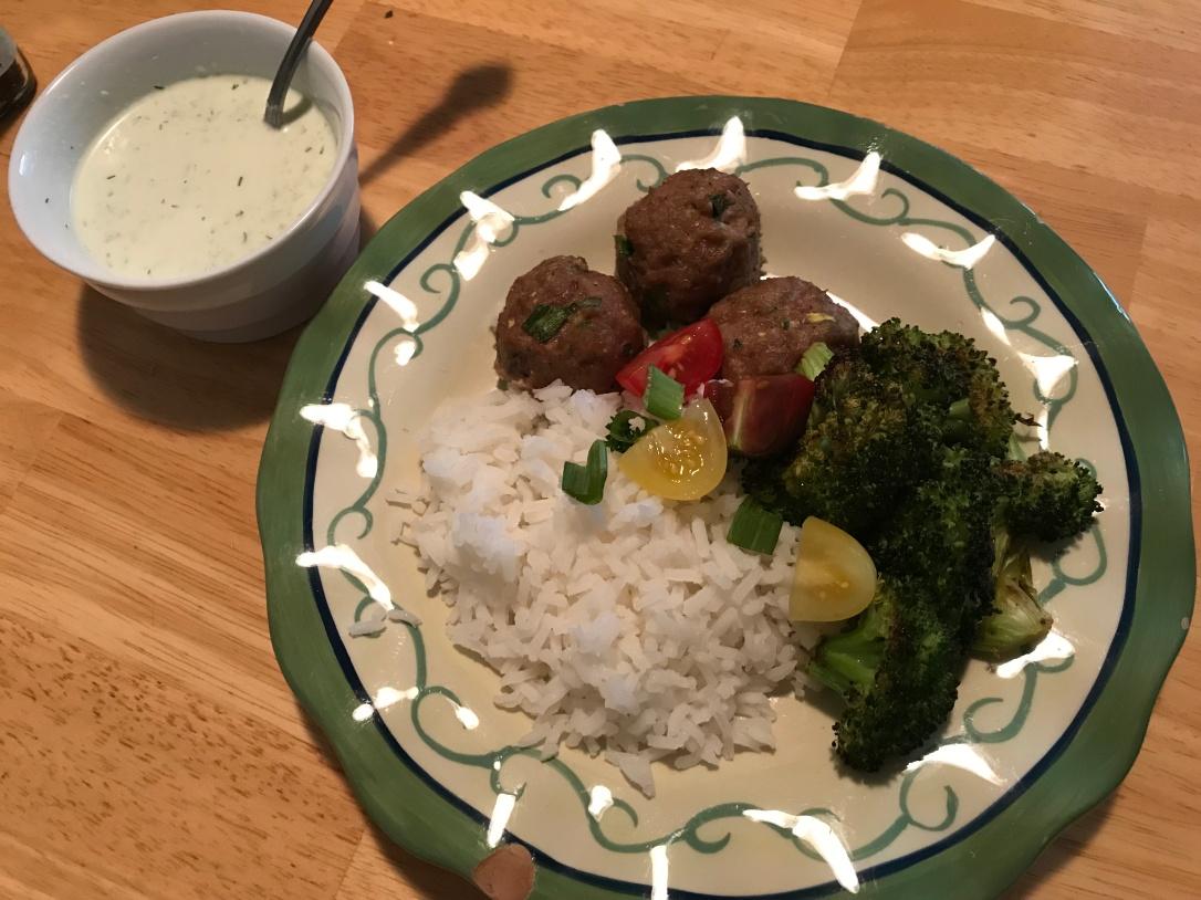 Meatball Plate 1